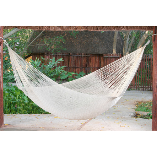 Mayan Legacy Cotton Hammock in Cream