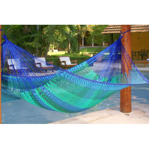 Mayan Legacy Outdoor Cotton Hammock