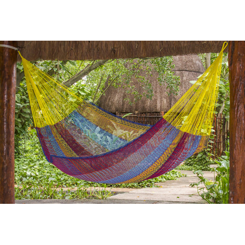 Leyla & Sol Cotton Mexican Hammock
