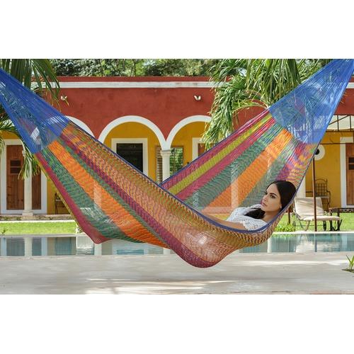 Leyla & Sol Single Mexicana Cotton Hammock