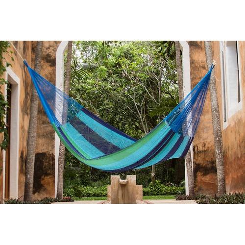 Leyla & Sol Single Oceanica Cotton Hammock