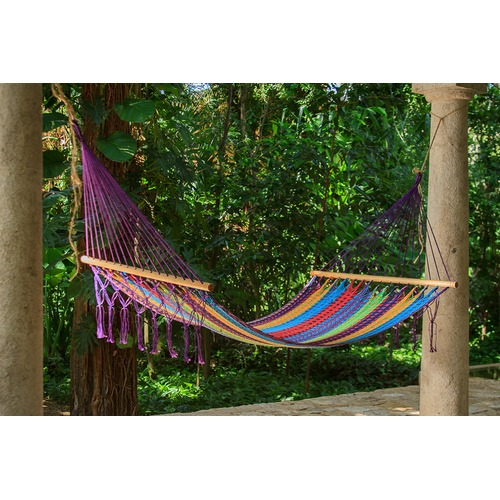 Leyla & Sol Queen Colorina Fringeless Hammock