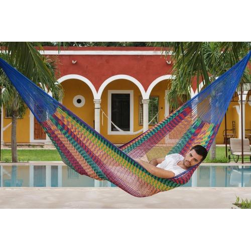 Leyla & Sol King Mexicana Outdoor Cotton Hammock