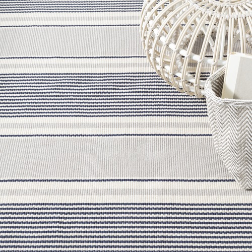 Dash & Albert Rug Company Stripe Gunner Cotton Rug