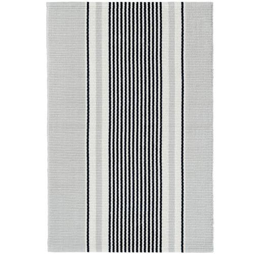 Dash & Albert Rug Company Stripe Gunner Cotton Rug