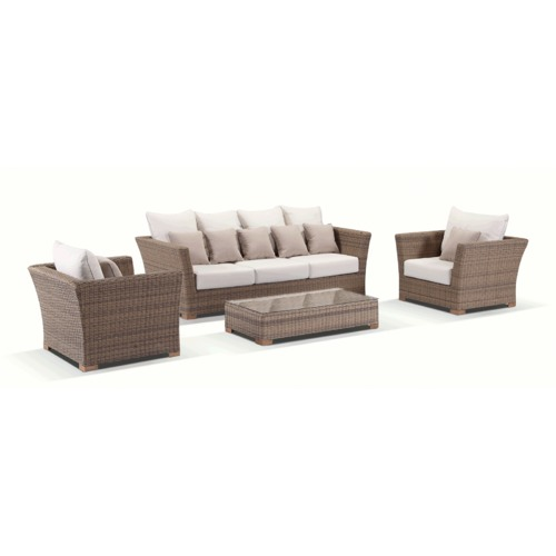 Greenport Outdoor Scarlett 5 Seater Outdoor Large Lounge Set