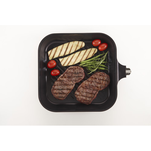 Neoflam Red Ruby My Pan 28cm Induction Grill Pan