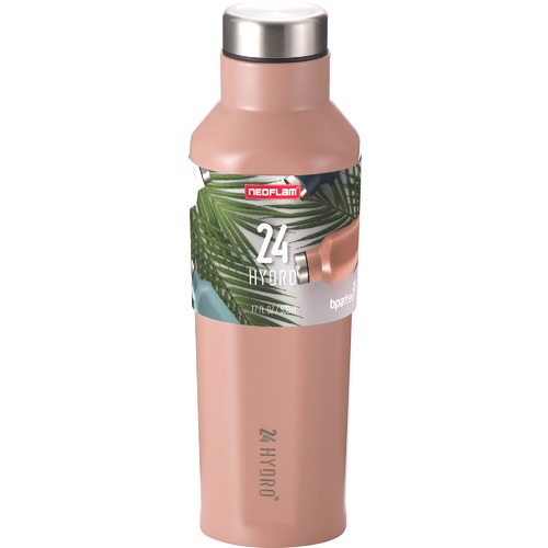 Neoflam Sunset Pink 24 Hydro 500ml Water Bottle