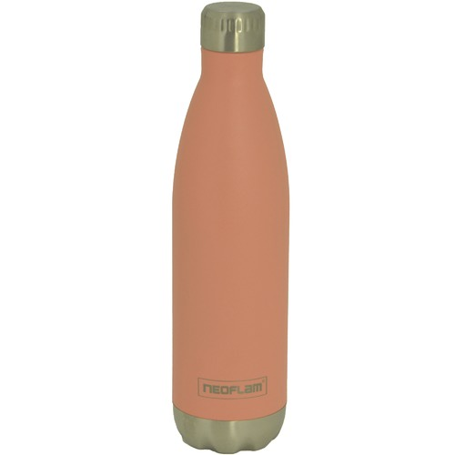 Neoflam Peach Classic Double Wall 750ml Water Bottle