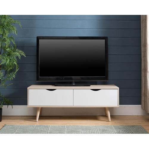 KD Furniture Oak European Style Entertainment Unit
