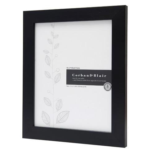 "Corban & Blair Block Portrait Photo Frame in 10"" x 8 """