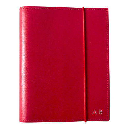 Corban & Blair A6 Red Leather Journal