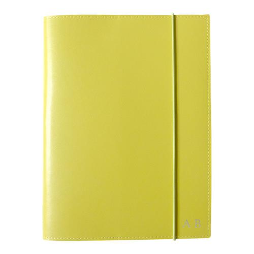 Corban & Blair A5 Yellow Leather Journal
