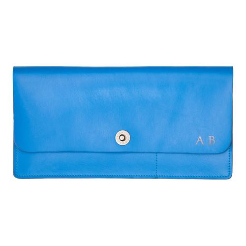 Corban & Blair Basics Blue Travel Wallet