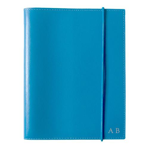 Corban & Blair A6 Blue Leather Journal