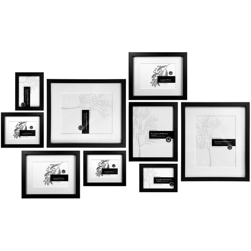 9 Piece Tapu Slim Box Wall of Frames Set | Temple & Webster