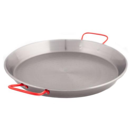 Garcima Silver & Red Carbon Steel Frying Pan