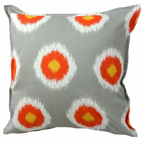 Bungalow Living Citrus Ikat Outdoor/Indoor Cushion