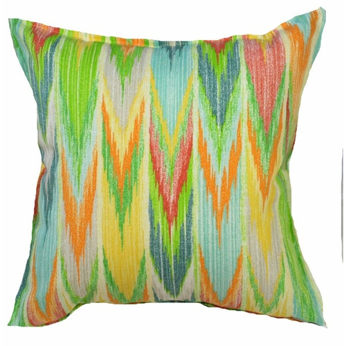 Bungalow Living Rainbow Waterfall Outdoor/Indoor Cushion