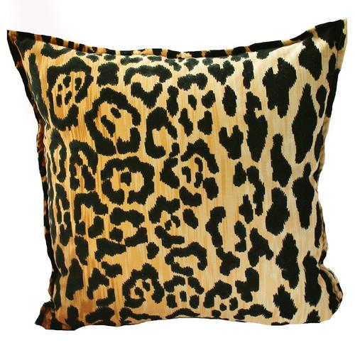 hattan pillow leopard velvet home products