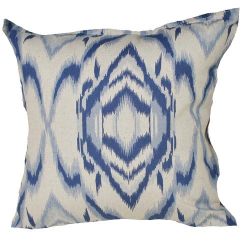Bungalow Living Indigo Waves Cushion