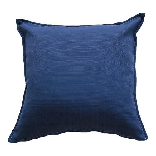Bungalow Living Deep Blue Indoor Outdoor Cushion