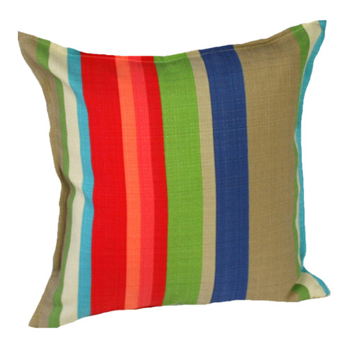 Bungalow Living Park Bench Stripe Indoor Outdoor Cushion