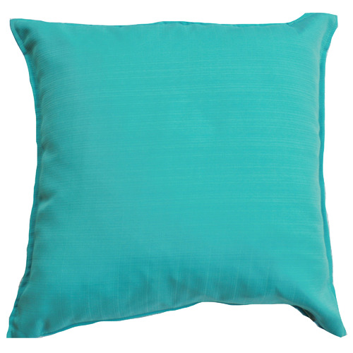 Bungalow Living Aqua Solid Outdoor Cushion