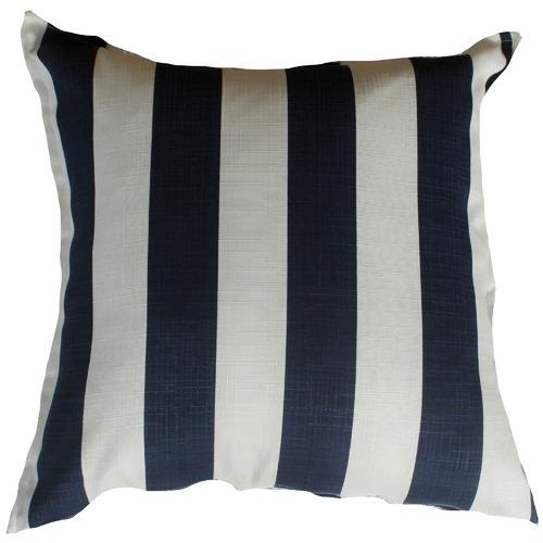 Blue & White Stripe Cushion