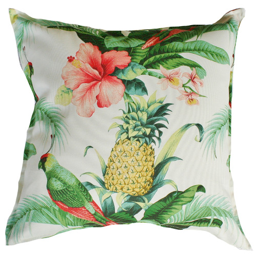 Bungalow Living Multi-Coloured Floral Outdoor Cushion