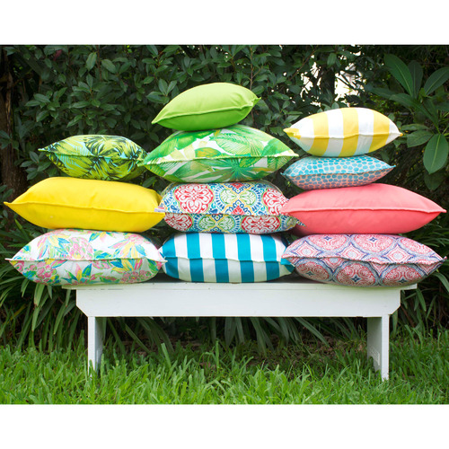 Multi-Coloured Isle of Capri Cushion