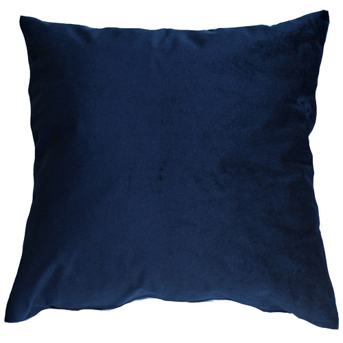 Bungalow Living Navy Blue Velvet Cushion