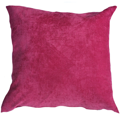 Bungalow Living Solid Pink Cushion