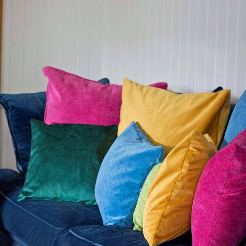 Pink Velvet Cushion