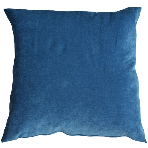 Bungalow Living Pale Blue Velvet Cushion