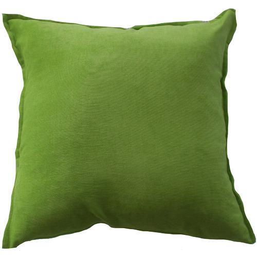 Bungalow Living Apple Green Velvet Cushion