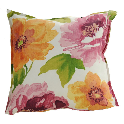 Bungalow Living Large Blooms Outdoor Cushion