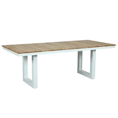 Maya Outdoor Furniture Natural Fusion U-Leg Outdoor Dining Table