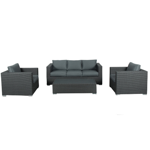 Maya Outdoor Furniture 5 Seater Soul PE Wicker Outdoor Sofa Set