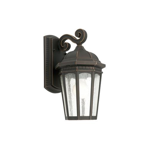 Ignite Lighting Cambridge One Light Exterior Wall Lantern in Bronze
