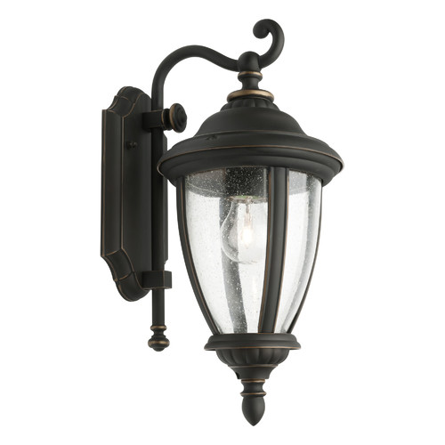 Cougar Lighting Oxford 1 Light Exterior Wall Lantern