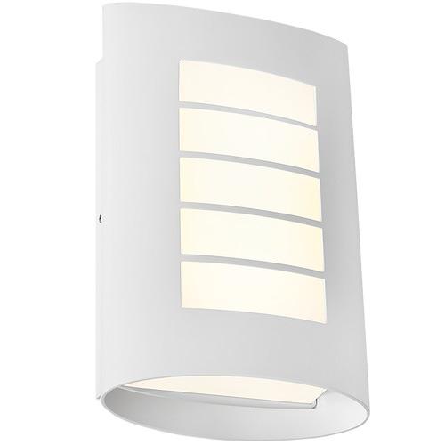 Cougar Lighting White Bicheno Exterior Wall Light