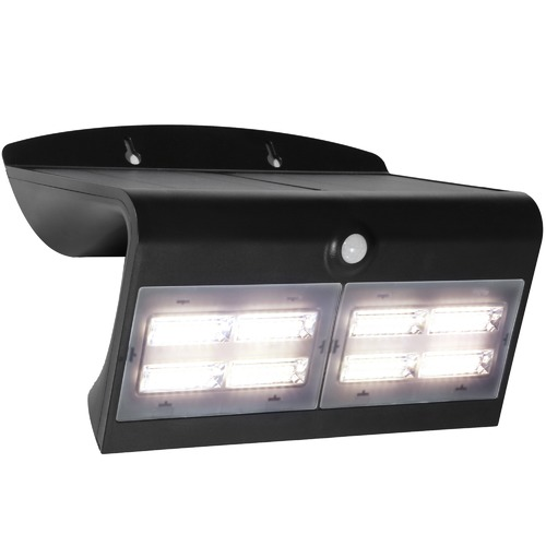 Cougar Lighting Solar 6.8W LED Wall Light