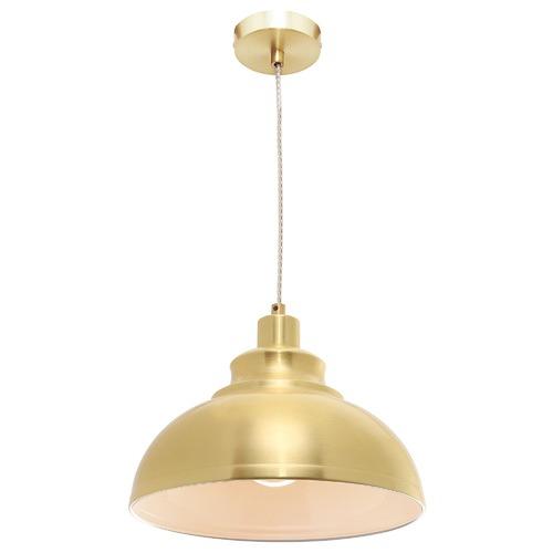 Cougar Lighting Satin Brass Risto Pendant Light