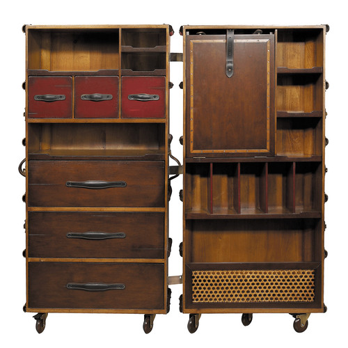 Global Treasures Stateroom Armoire Cabinet