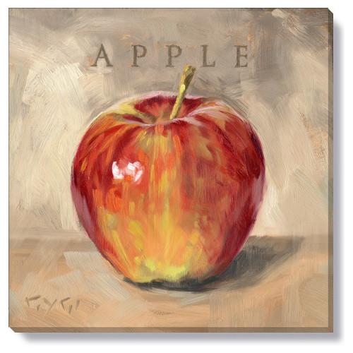 Gygi Apple Canvas Wall Art | Temple & Webster