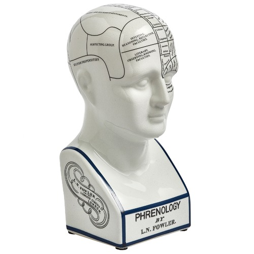 Global Treasures Phrenology Head Sculpture