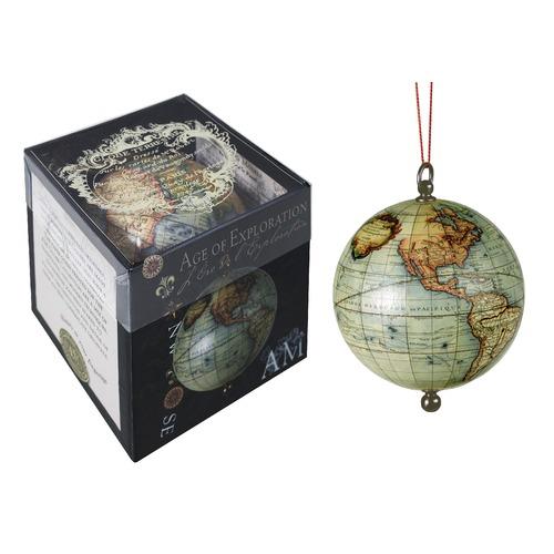 Global Treasures Age of Exploration Keepsake Spheres Globe