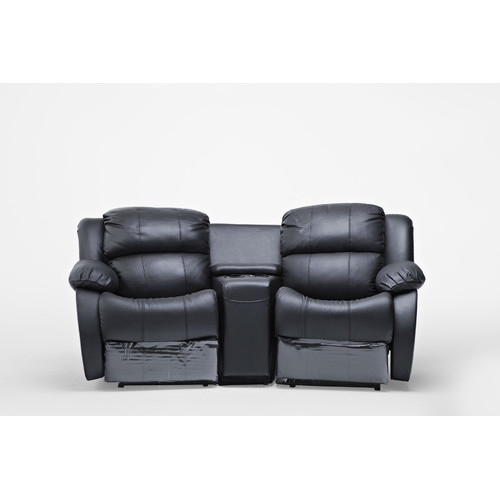 2 Seater Home Theatre Recliner Sofa Temple Webster