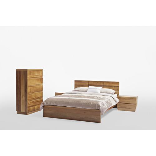 Evergreen Home Naples Blackwood Timber Bedside Table